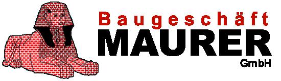 Baugeschäft Maurer